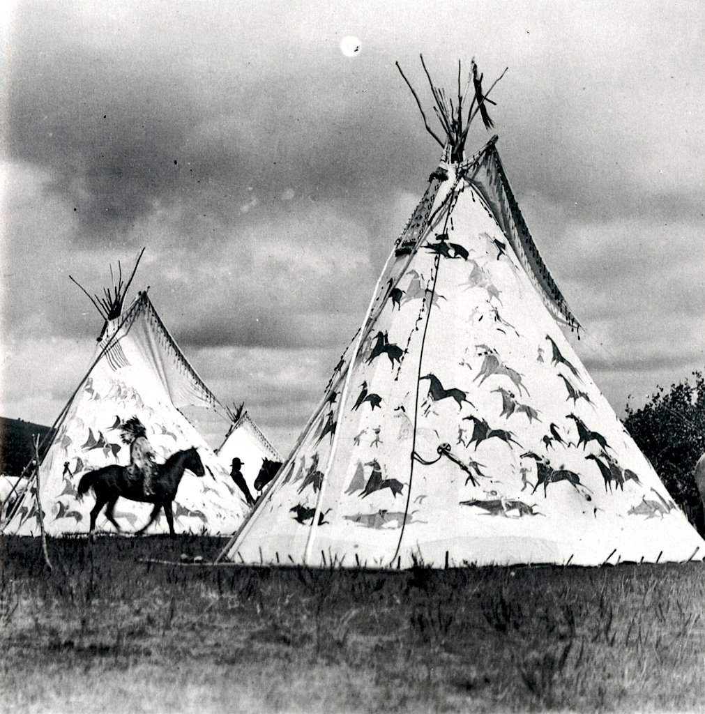 Painted Tipis
