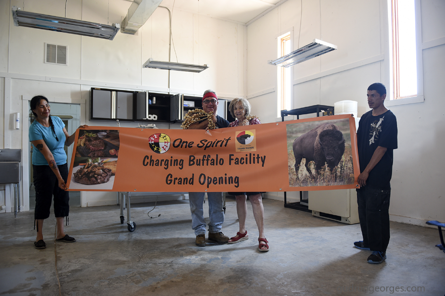 Banner for Grand Opening