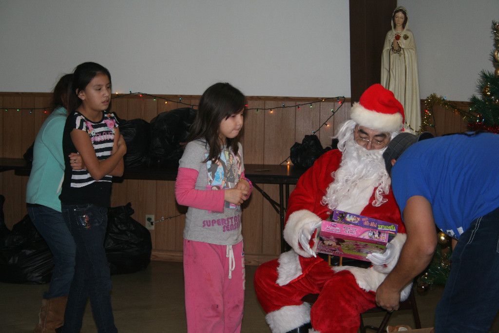 Kids and Santa Claus